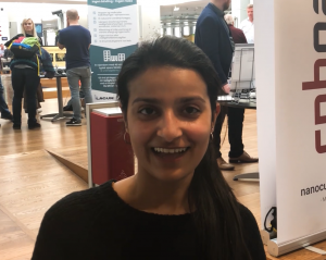 Palak visited our booth at a matchmaking event
