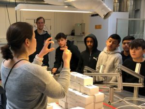 Visit from Tingbjerg Skole and Coding Class