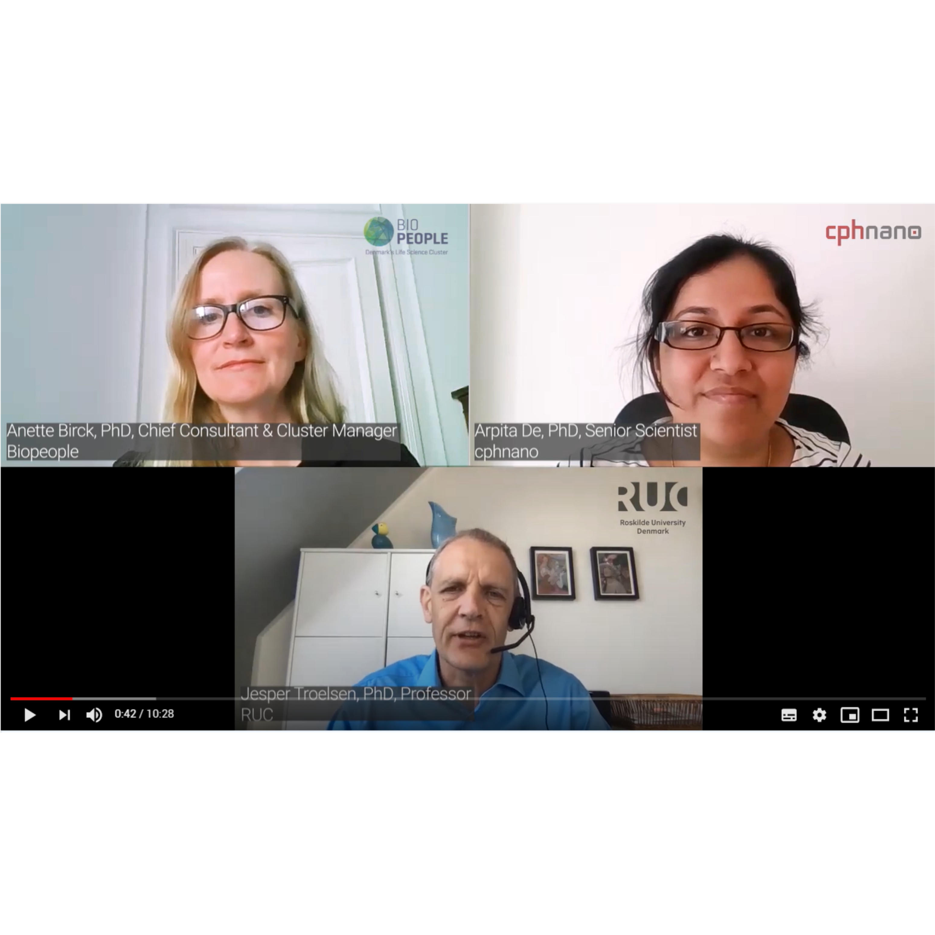 Experts talk about COVID-19 tests