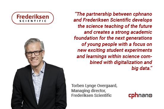 Frederiksen Scientific as new reseller